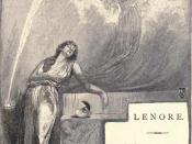 Illustration by Henry Sandham for Poe's poem Lenore for an 1886 edition of the poem