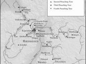 Hildegard's preaching tours through Germany
