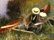 John Singer Sargent: An Out Of Doors Study