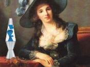 Antoinette-Elisabeth-Marie d'Aguesseau, Comtesse de Ségur, and Her Lava Lamp, after Élisabeth Vigée-Lebrun