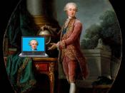 The Prince of Nassau and His Blog, after Élisabeth-Louise Vigée-LeBrun