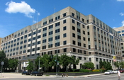 English: The National Education Association headquarters located at 1201 16th Street, N.W., in downtown Washington, D.C. The modernist office building was constructed in 1963.