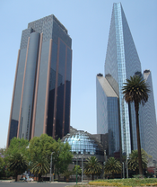 English: Picture of the BMV building on Reforma Ave. Mexico City