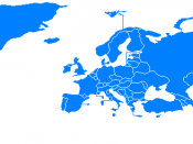 English: OSCE countries map