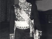 English: Ali Amini, Prime Minister of Iran