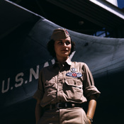 Mrs. Eloise J. Ellis has been appointed by civil service to be senior supervisor in the Assembly and Repairs Department at the Naval Air Base, Corpus Christi, Texas. She buoys up feminine morale in her department by arranging suitable living conditions fo
