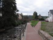 English: River Wisper in Lorch Deutsch: Wisper bei Lorch