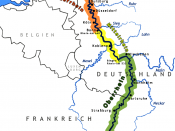 The Rhine is one of the most important rivers in Europe.