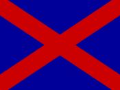 English: Voortrekker Flag.