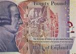 This £20 note was issued by the Bank of England and features Smith.