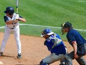 Ball Impact. UNF Baseball vs. Florida Gulf Coast University