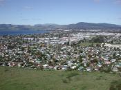 Rotorua viewed from gondola up Mount Ngongotaha.