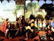 English: Scene from Twelfth Night by William Shakespeare: Act II, Scene iv Italiano: Scena da La dodicesima notte di William Shakespeare: Atto II, scena iv