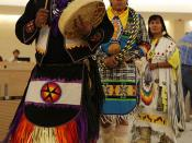 Yellow Bird Apache Dancers Perform in Human Rights Council Chamber at UN Meeting on Rights of Indigenous Peoples.