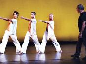 DanceBrazil Founder and Artistic Director Jelon Vieira rehearses with his company.