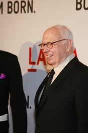 Ellsworth Kelly arrives at LACMA's Gala Opening of the Broad Contemporary Art Museum on February 9, 2008 in Los Angeles, CA.