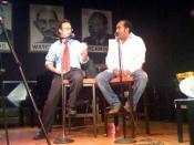 Jonny Goldstein and Rohit Bhargava at Busboys and Poets