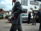 Prince Charles in Upton-upon-Severn