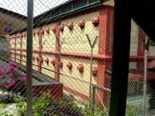 One of the ten accommodation blocks, used for housing the inmates in the JB Prison