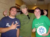 Kevin and I with Paul Wright at Sonfest 2005
