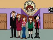 Left to right: Jake, Helen, Quinn, Daria, and Jane