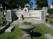 English: The gravesite of Harry Houdini