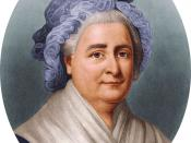 English: Martha Dandridge Custis Washington (1731 – 1802), wife of George Washington and first First Lady of the United States of America. Image housed in the Hulton Archive.