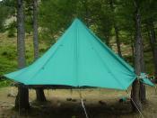 English: Scout tent Italiano: Tenda scout