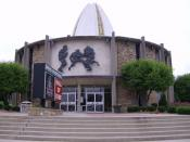 Pro Football Hall of Fame, at Canton, Ohio, United States.