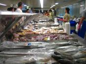 The fish market in Sydney Chinatown.