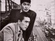 Yukio Mishima and Shintaro Ishihara.