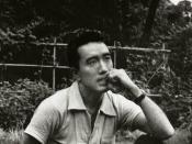Yukio Mishima.