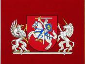 English: Standard of the President of Lithuania. Lietuvių: Lietuvos Respublikos Prezidento vėliava. Polski: Sztandar Prezydenta Litwy. Русский: Флаг президента Литвы.