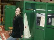 Jodie in Locker Room