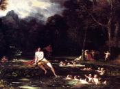 Benjamin West, Narcissus and Echo (1805)
