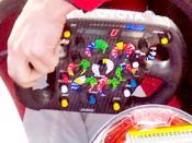 Toyota TF109 steering wheel 1/320s - F/14 - 200mm - ISO200
