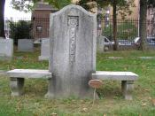 English: The grave of W.C. Handy in Woodlawn Cemetery, Bronx, NY