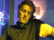 Adam Freeland DJ-ing in Istanbul, Turkey