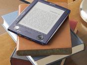 English: A Picture of a eBook Español: Foto de eBook Беларуская: Фотаздымак электроннай кнігі Русский: Фотография электронной книги