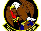 7th Contracting Squadron Patch