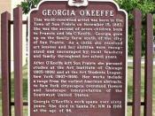 English: a sign commemorating birth of Georgia O'Keeffe, located next to Sun Prairie City Hall, 300 E, Main Street