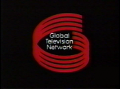 The original logo of Global featured a stylized