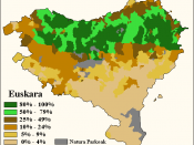 Linguistic map of Basque Country Natura parkeak: Natural parks Español: Mapa lingüístico del País Vasco Natura parkeak: Parques Naturales Statistics: Iparralde or French Basque Country: 2006 Hegoalde or Spanish Basque Country: 2001