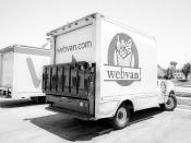 Webvan Delivery Van