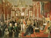 English: The coronation of Emperor Pedro I of Brazil in 1822. Português: A coroação do Imperador dom Pedro I do Brasil em 1822.