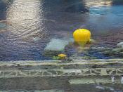 Buoyancy Balloon & Divers (Yellow SCUBA Tanks) at the NBL