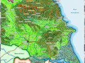 English: The Deira Kingdom in s. V-VII (Anglo-Saxon period)