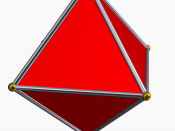 English: Picture of an octahedron Français : Image d'un octaèdre