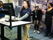 desk treadmill rendezblue-1