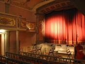 Stadttheater Weißenhorn, Germany Auditorium (Zuschauerraum)